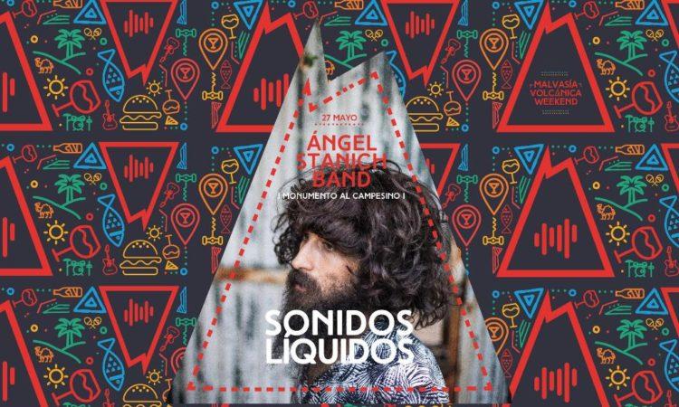 Concierto de Ángel Stanich. Sonidos Líquidos 27 de mayo 2018
