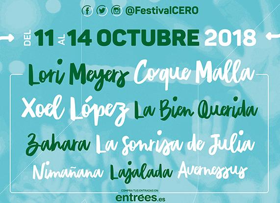 Festival Cero 2018 . Las Palmas de Gran Canaria