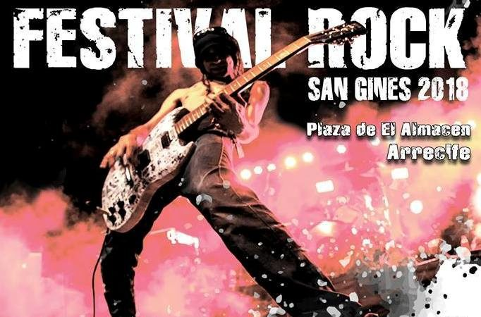 Festival Rock San Ginés 2018. Conciertos Lanzarote