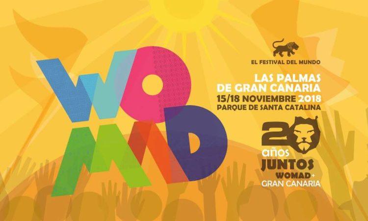 WOMAD Las Palmas de Gran Canaria 2018. Festivales en Canarias. Conciertos Lanzarote.