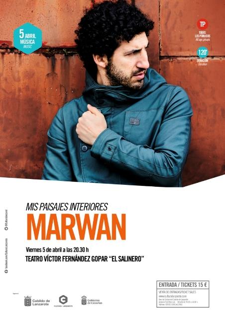Marwan presenta 'Mis paisajes interiores' en el Teatro El Salinero