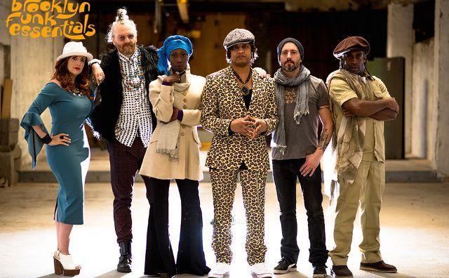 Brooklyn Funk Essentials en Lanzarote. Escenario Manrique.