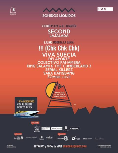 No te pierdas nuestra selección de canciones con todas las bandas que forman parte del Malvasía Volcánica Weekend 2019.