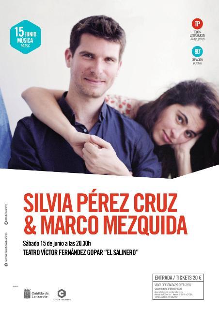 Silvia Pérez Cruz visita Lanzarote junto al pianista Marco Mezquida el sábado, 15 de junio, con un espectáculo íntimo y personal.