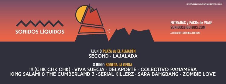 Cartel Sonidos Líquidos 2019
