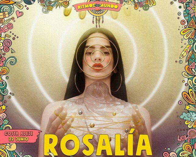 Rosalía confirmada para Ritmos del mundo en Tenerife.
