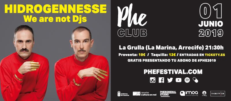 Concierto de Hidrogennesse en La Grulla. Phe Club