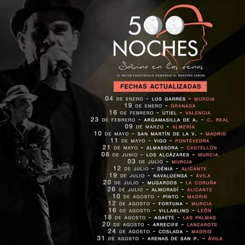 El mejor espectáculo que rinde homenaje a Joaquín Sabina llega a Lanzarote el martes, 20 de agosto, dentro de las Fiestas de San Ginés.