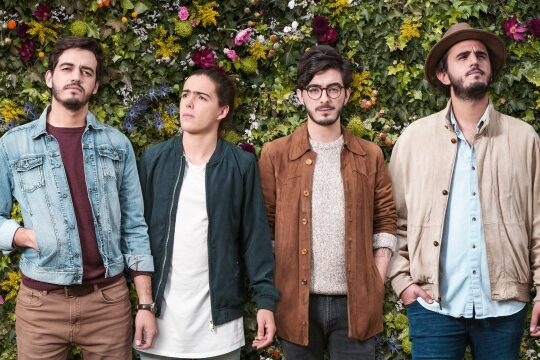 La banda colombiana Morat actuará en Lanzarote el domingo, 25 de agosto, como broche de final de las Fiestas de San Ginés de 2019.