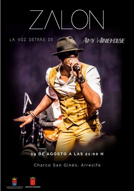 Zalon Thompson, quien fue corista de Amy Winehouse, se presenta por primera vez en Lanzarote19 de agosto. Esta 'Noche funky' también contará con la actuación del grupo lanzaroteño Funk Five.