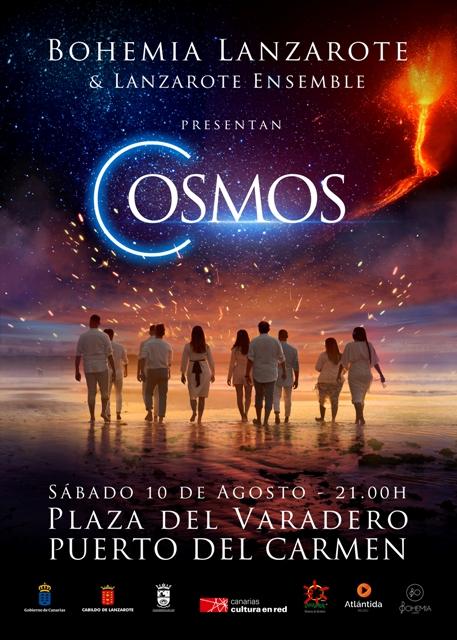 Bohemia presenta su espectáculo Cosmos junto a Lanzarote Ensemble
