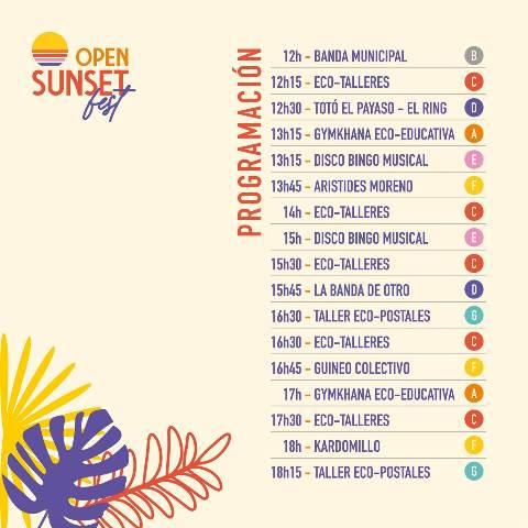 El Open Sunset Fest de Lanzarote celebrará su primera edición con 4 conciertos