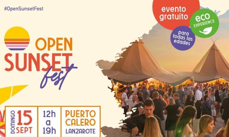 Arístides Moreno, Guineo Colectivo, Kardomillo y La Banda de Otro actuarán en el Open Sunset Fest de Lanzarote el 15 de septiembre