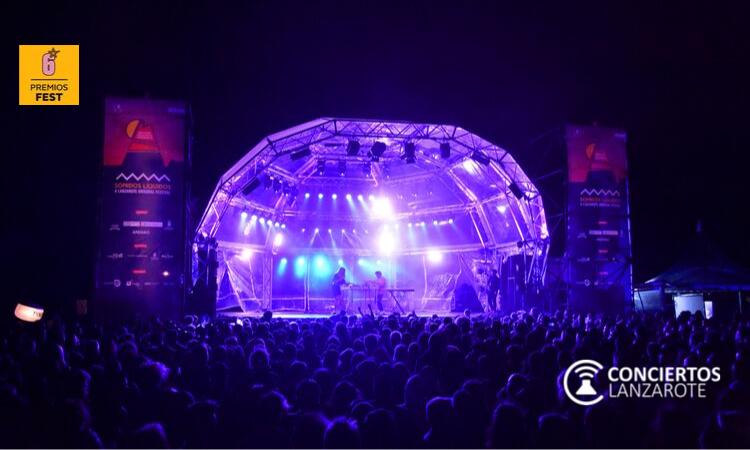 Conciertos Lanzarote entra en lista de nominados en los VI Premios Fest por primera vez. Sonidos Líquidos, Arrecife en Vivo, Phe Festival y Vinos de Lanzarote también optarán a diferentes categorías.