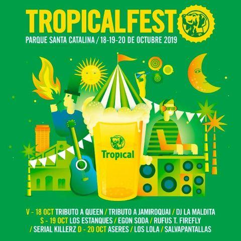 Rufus T. Firefly encabeza la quinta edición del Tropical Fest