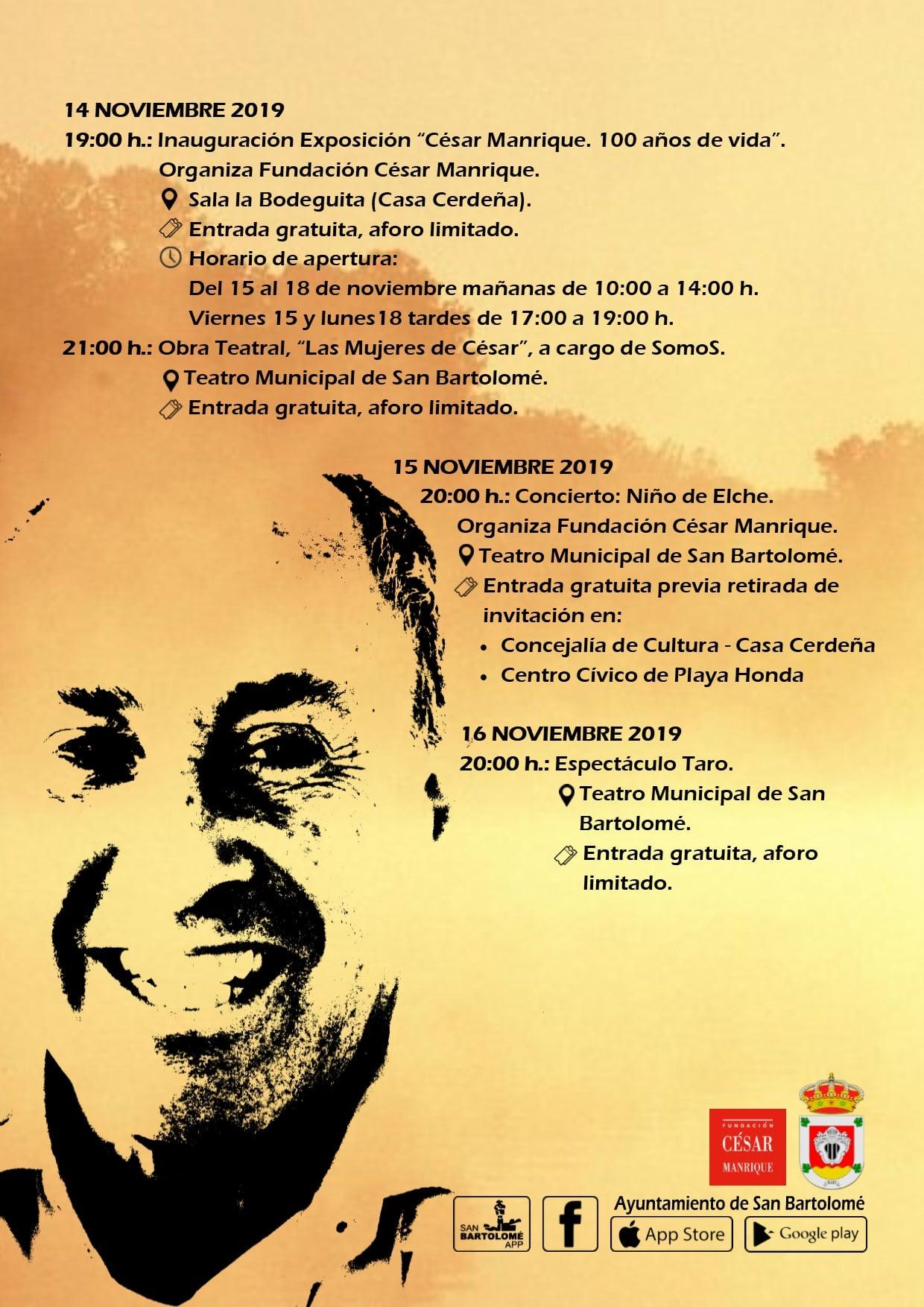 Niño de Elche vuelve a Lanzarote para presentar su nuevo disco en un concierto que forma parte del homenaje al centenario de César Manrique