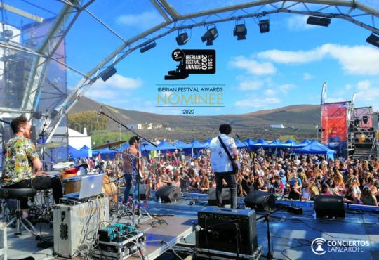 Conciertos Lanzarote entra en la lista de nominados de los Iberian Festival Awards en la categoría Best Media Partner junto a otros medios de comunicación de renombre de España y Portugal.