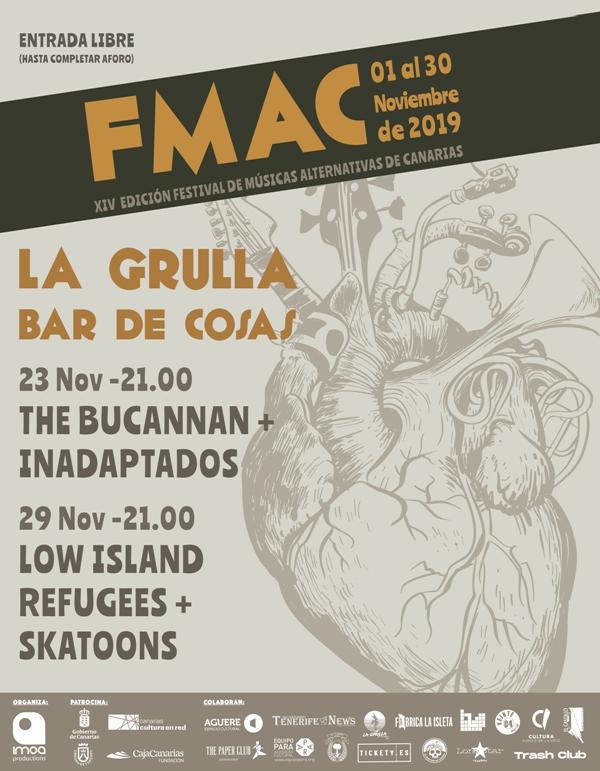 FMAC - Concierto de Inadaptados Lanzarote y The Bucannan