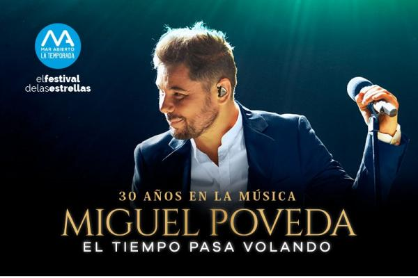 El cantaor de flamenco Miguel Poveda presentará el 15 y 16 de noviembre 'El tiempo pasa volando', una gira especial como homenaje a sus 30 años de trayectoria musical.