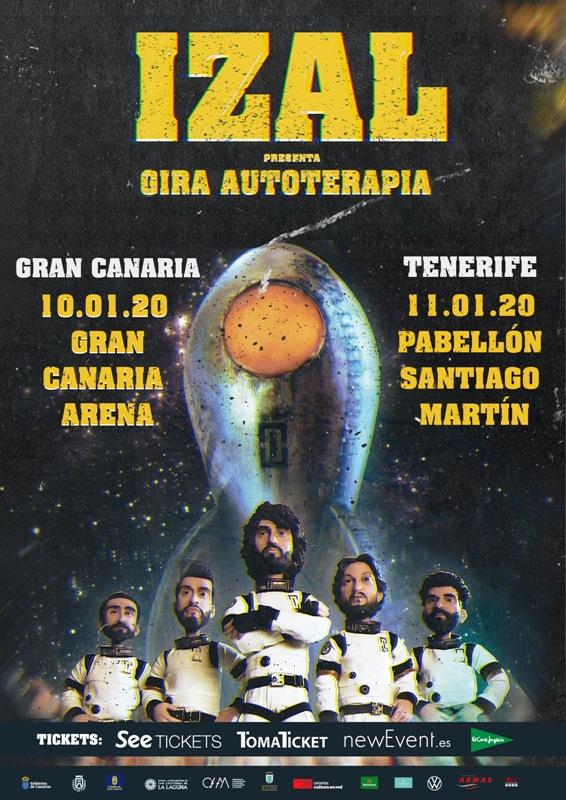 La gira 'Autoterapia' de Izal hará escala en Gran Canaria el 10 de enero y al día siguiente, en Tenerife.