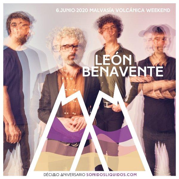 León Benavente regresará a Lanzarote para formar parte del cartel del décimo aniversario de Sonidos Líquidos.