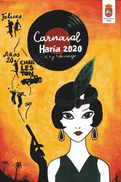 Concierto de Edwin Rivera en el carnaval de Haría