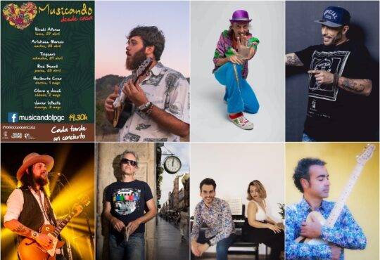 Musicando desde casa. El programa de directos a través del Facebook Live de la página @MusicandoLPGC brindará los sonidos de Hirahi Afonso, Arístides Moreno, Tinguaro, Red Beard, Heriberto Cruz, Josh & Clair y Javier Infante