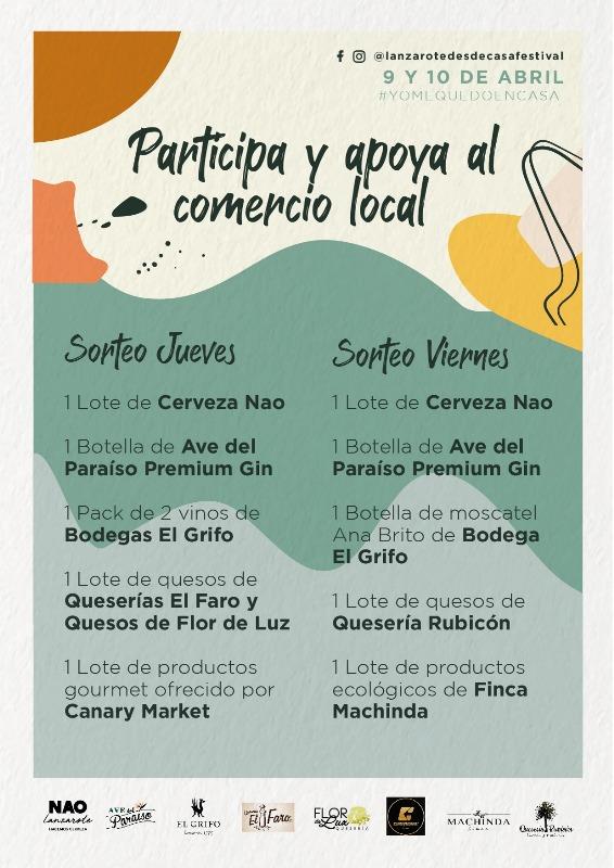 Lanzarote desde casa festival premios de empresas locales
