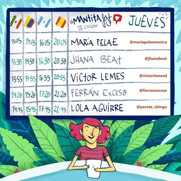 30, 1 y 2 de Mayo tendremos la tercera edición de Mantita fest