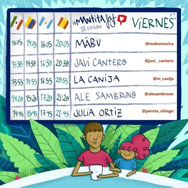 15 artistas actuarán en la tercera edición del Mantita Fest que se celebrá el 30 de abril, 1 y 2 de mayo.