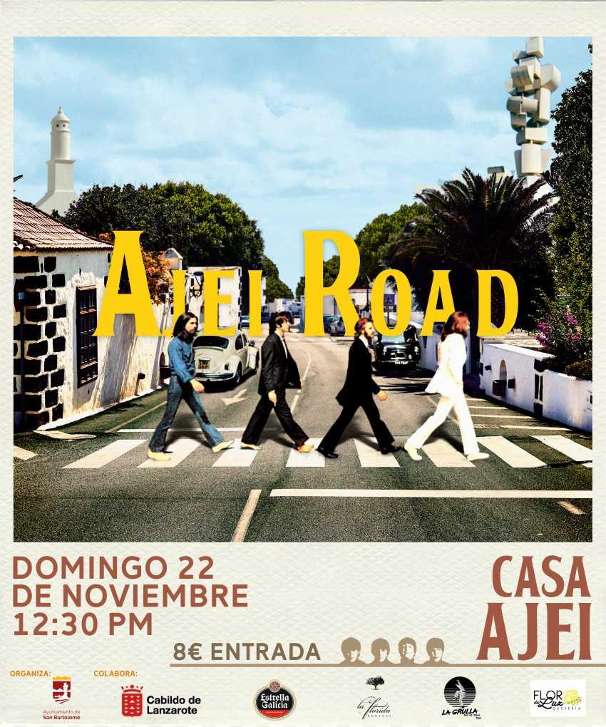 El domingo, 22 de noviembre, la casa Ajei se convertirá en un pedazito de la ciudad de Liverpool con la actuación de The Rubber Beatles.